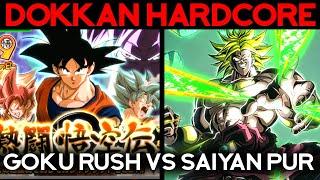 Broly LR TEC face au Goku Rush ! DOKKAN