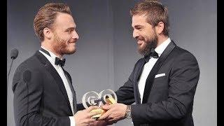 Kerem Bürsin GQ Türkiye Men of the Year Yılın Yükselen Yıldızı Ödüül ve Röportajlar ( Kasım 2014)