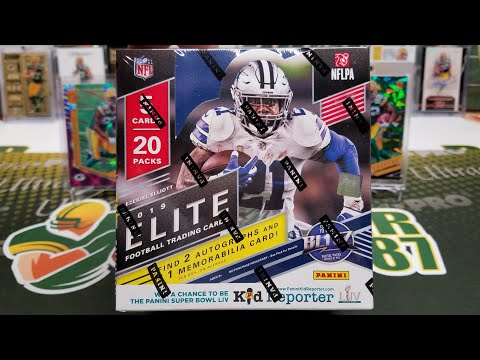 2019 Donruss Elite Football Hobby Box Opening. 3 Hits!