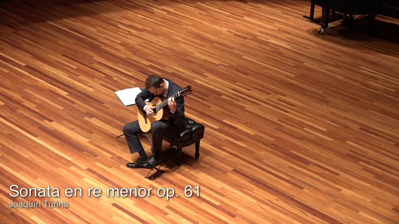 Sonata op.61 Joaquin Turina - Francisco Bernier