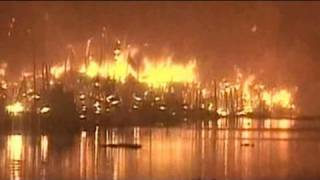 Over 100 Shanties Gutted In Fire At Kolkata Slum