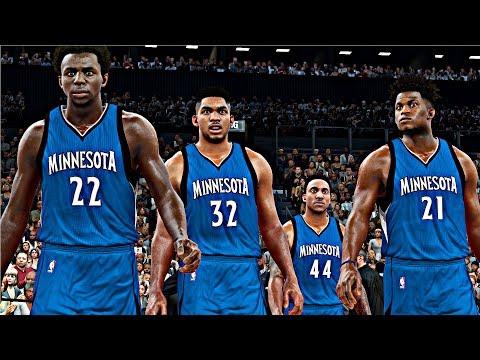 NBA 2K18 Rosters - Minnesota Timberwolves vs Brooklyn Nets