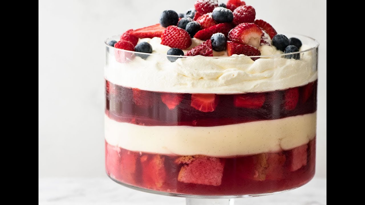 Christmas Trifle Recipetin Eats