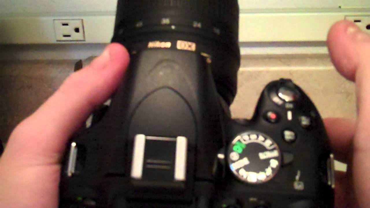 How To Quickly Turn Flash Off On The Nikon Dslr D5100 Camera Youtube Tutup Body Lensa