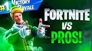 INTENSE SOLO WIN VS PRO PLAYERS! - Fortnite Battle Royale