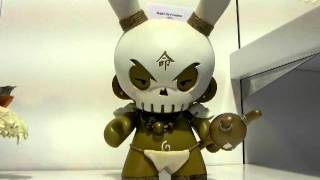 HUCK GEE AT TOY ART GALLERY