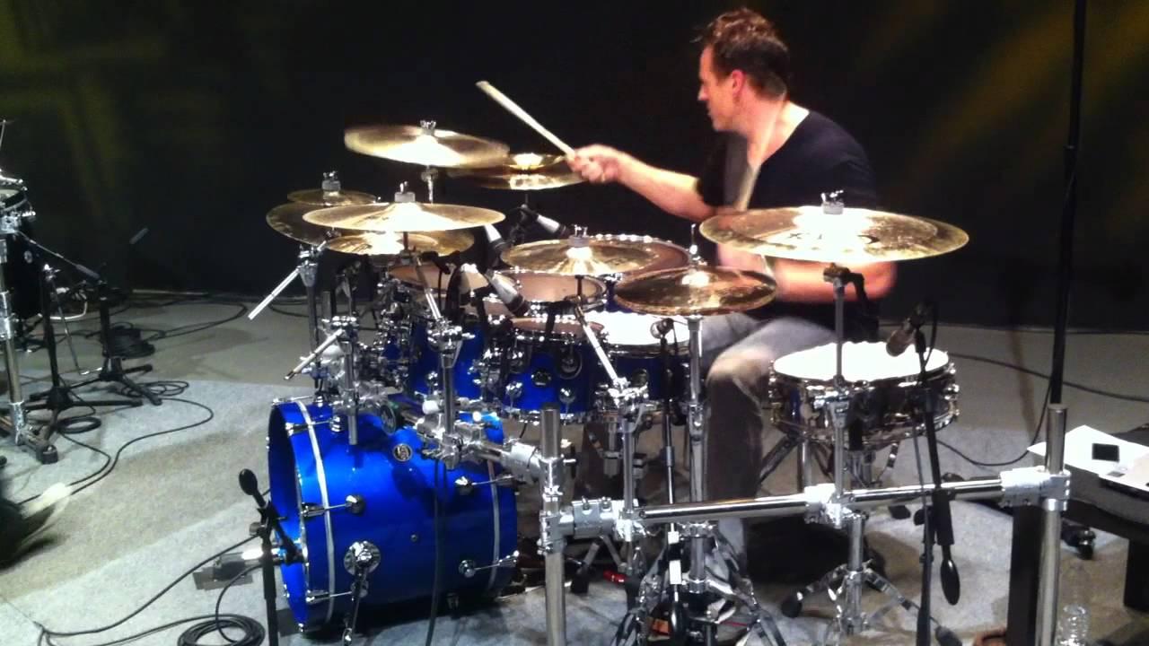 Drum Set Wallpaper Hd Recess Thomas Lang Playing A Solo On Cobus Potgieter S