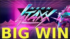 SLOTS BIG WIN NEON STAXX
