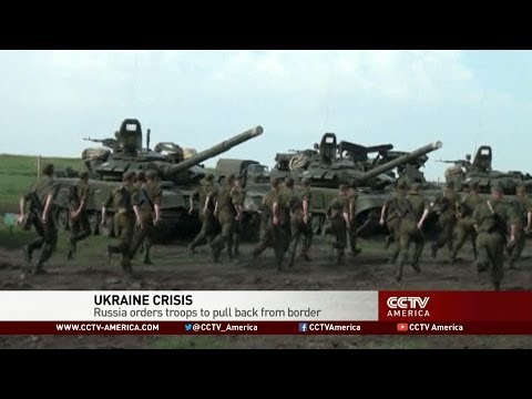 Ukraine Crisis: Russia Orders Troops to Pull Back From Border