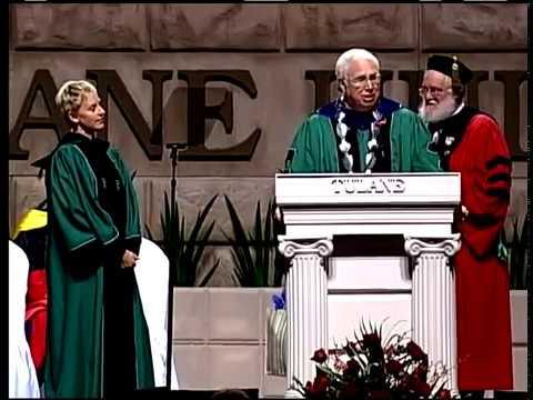 Ellen at Tulane Commencement 2009 | Most Inspiring Motivational Speeches &25 hf4hs