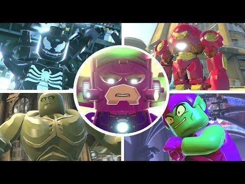 LEGO Marvel Super Heroes - All Bosses