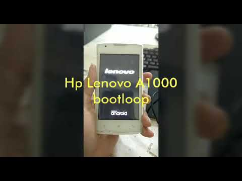 Lenovo A1000 Firmware 100 Tested