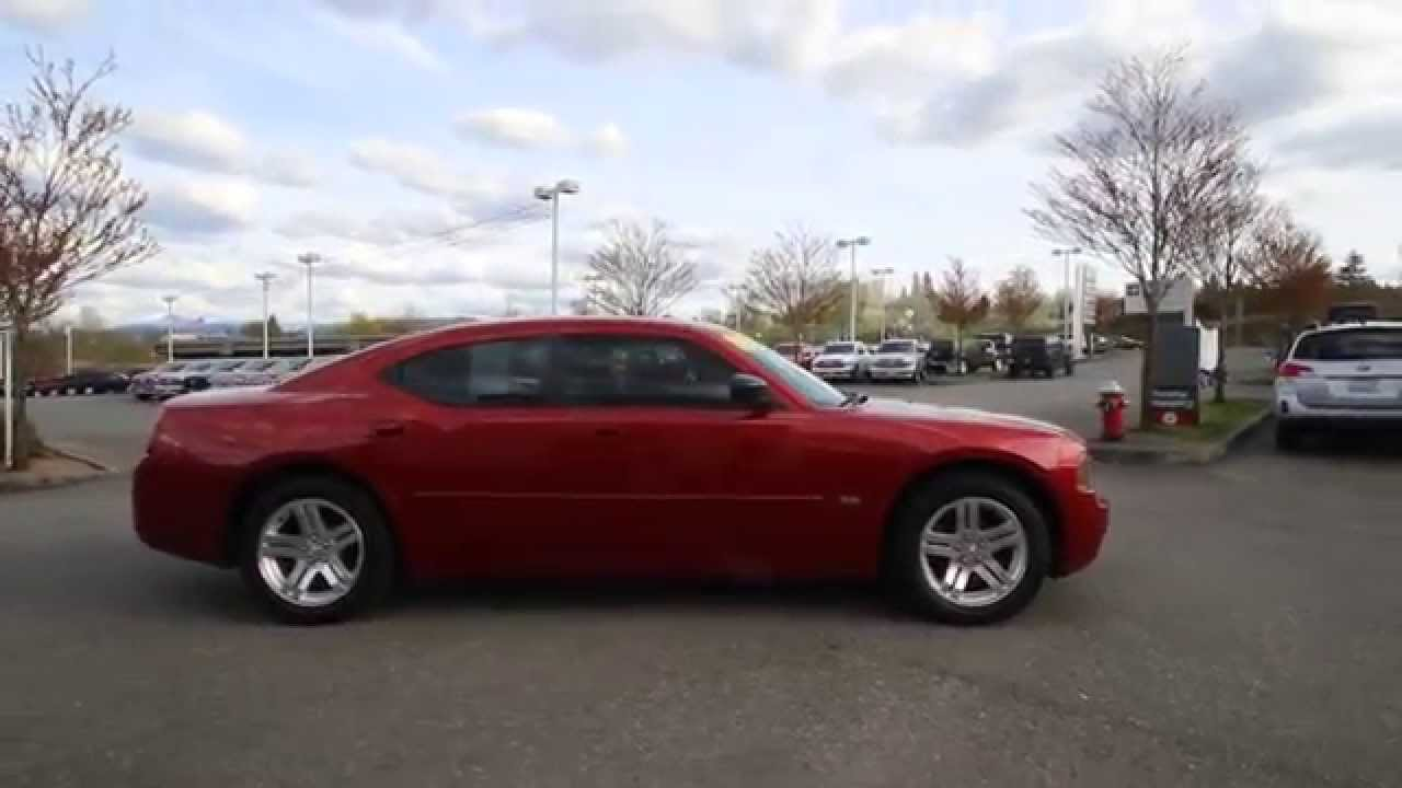 2006 Dodge Charger SXT | Inferno Red | 6H528584 | Everett | Snohomish