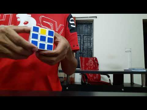 Rubik,s cube solution in 2 minute