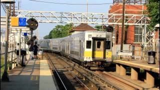 LIRR Railroad action at Mineola [DE/M30 w/ C3s and M7s]
