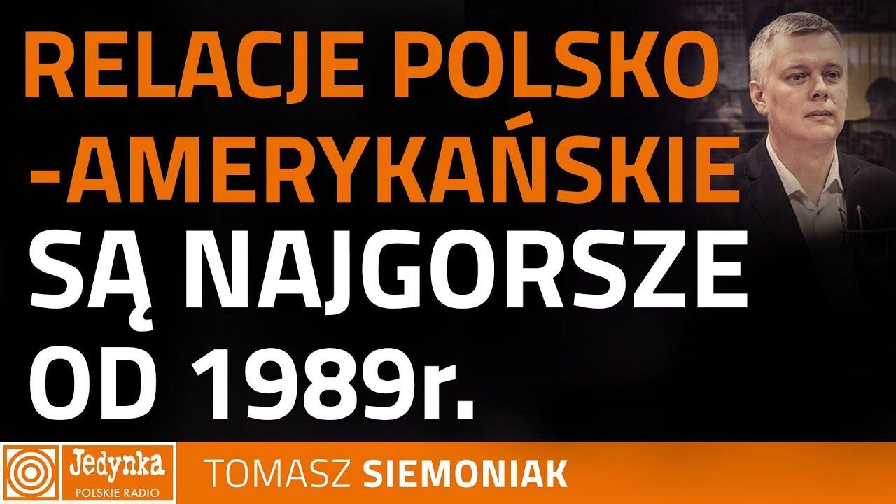 Tomasz Siemoniak: nie spodziewałam się, że USA powiedzą, że zawieszają relacje z Polską