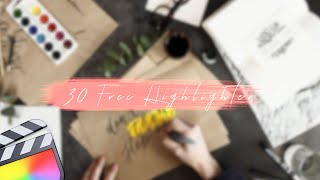 Free Highlighter Templates Pac…