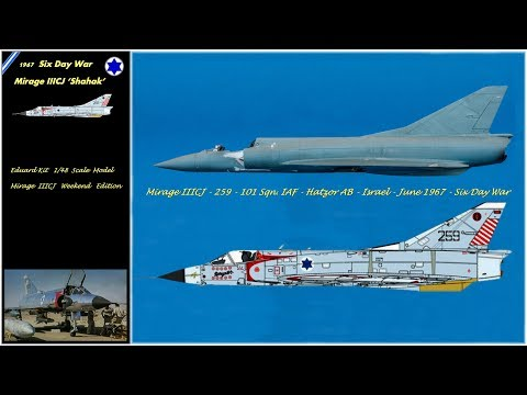 Tutorial Mirage IIICJ - 259 - 101 Sqn.IAF - Hatzor AB - Israel - June 1967 - Six Day War - Episode 1