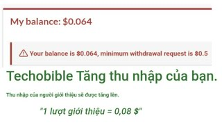 Web tương tác kiếm tiền min rút 0,5$ | kiếm tiền online