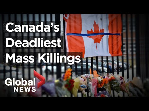 The deadliest massacres in Canadian history