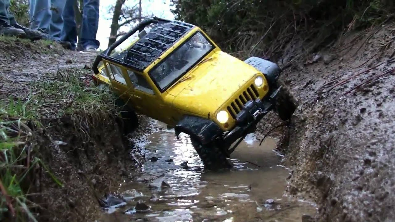 Jeep Rc 4x4 Scaler Canalone 1 YouTube
