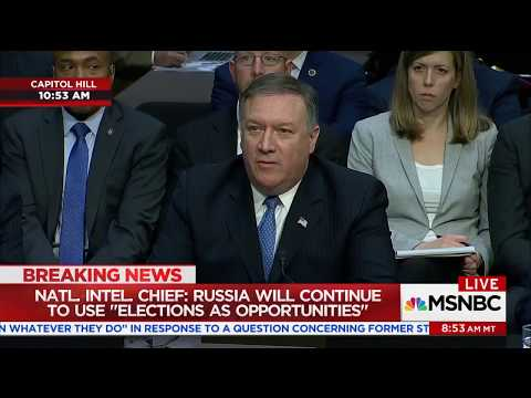 Mike Pompeo, CIA Chief: NY Times Was 'Swindled' By 'Phony Information' From Russian Source