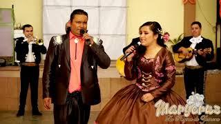 Cantando con mi papá en mis XV años, CRUZ DE MADERA   MaryCruz La Reyna de Zamora