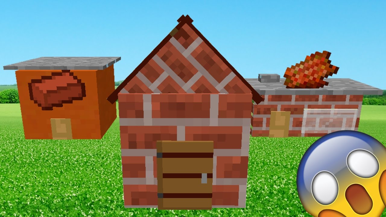 El le case piu 39 piccole del mondo in minecraft vanilla for Piccole case costiere