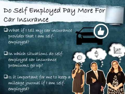 Car Insurance For The Self Employed – Get Online Quotes Quickly