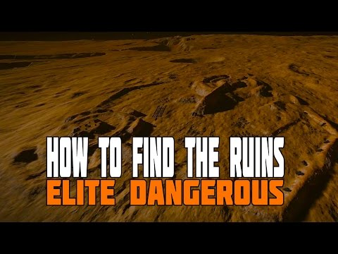 Elite Dangerous - How to find the Alien Ruins & what to do when there