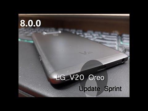 LG V20 Oreo update Sprint