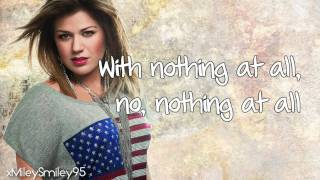 Kelly Clarkson - Einstein (with lyrics)