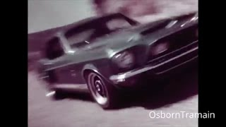 1968 Ford Mustang / Shelby Cobra Commercial featuring Carroll Shelby