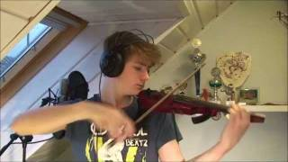 Lil Wayne feat. Bruno Mars - Mirror (electric violin cover)