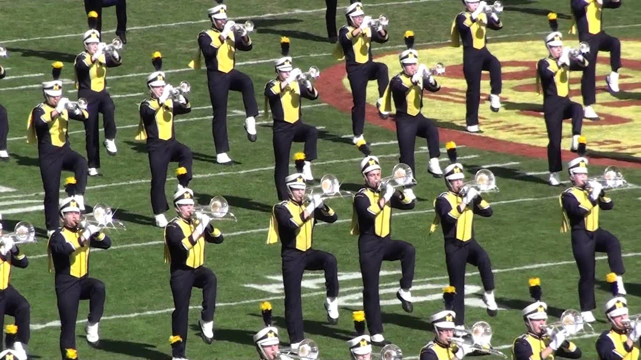 Michigan Marching Band Pre Game Show At The Outback Bowl 1113