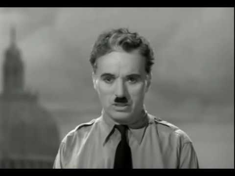 The Great Dictator (1940) - Charlie Chaplin - Final Speech - Music - Hans Zimmer - Time - Subtitles