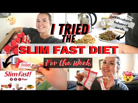 I tried the SLIM FAST DIET for a week *WOW* Didn't Expect This!