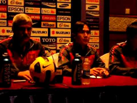 Press con Philippines vs Vietnam 2010 Suzuki Cup