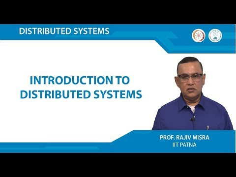 Lecture 01 - Introduction to Distributed Systems