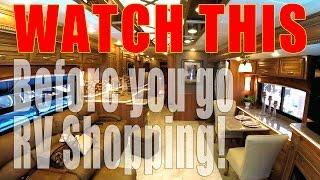 RV Shopping Tips for Buying an RV | Full Time RV Living