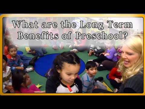 What are the Long Term Benefits of Preschool?