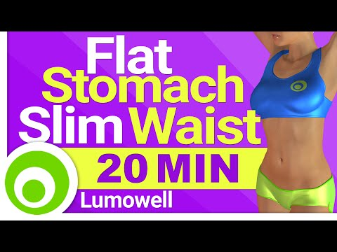 Cardio to Get a Flat Stomach and a Slim Waist - Burn Belly Fat, Lose Weight and Tone Your Body