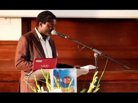 Davian Jessamy speaks about Happiness at the 2nd British Spiritist Congress - London - May 2013
