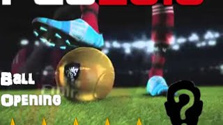 Pro Evolution Soccer 2016| MYCLUB- VICTORIA DIVISIÓN 6 + BALL OPENING 5 ESTRELLAS