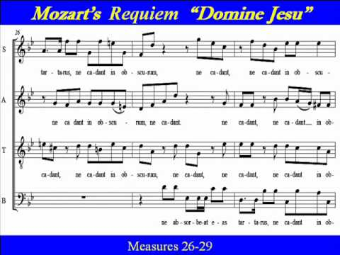 Mozart Requiem Bass Domine Jesu.wmv - YouTube