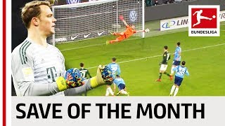 Top 5 Saves in January 2019 - Vote for your Save of the Month