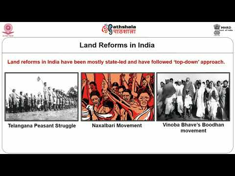 The political context of land reforms I