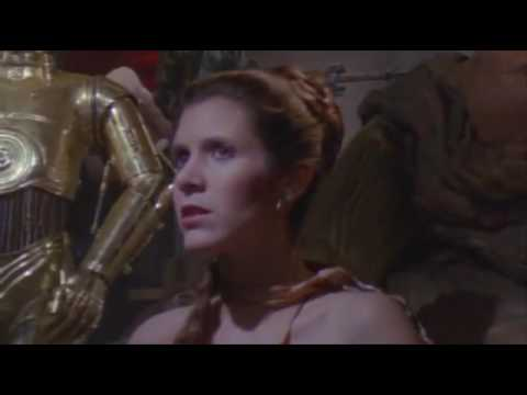 Return of the Jedi Slave Leia Scene   Special Edition