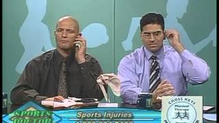 05/11/2006 Sports Doctor with Dr. Mathew Pepe on Back and Neck Injuries