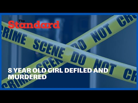 Shock in Umoja 2 Estate as 8 year old girl is defiled and murdered by a suspected church caretaker